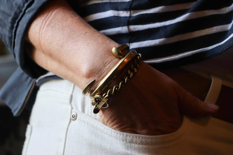 Spike Toggle Chain Bracelet