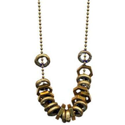 Rings & Nuts Necklace | Giles & Brother