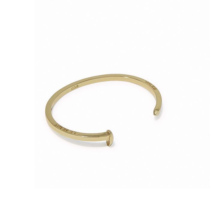 Tiny Railroad Spike Cuff | Giles & Brother