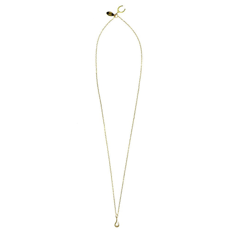 Tiny Fish Hook Necklace | Giles & Brother