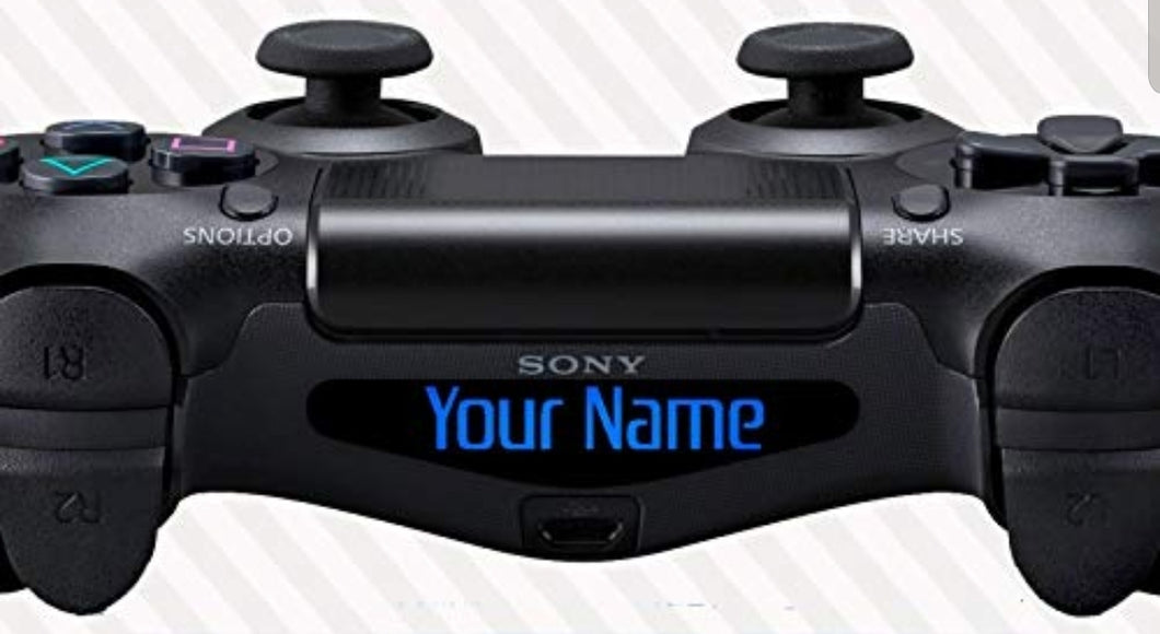 Gamertag decal ps4