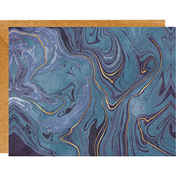 Blue Marble Blank Note Cards