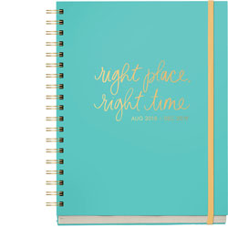 2018-2019 Right Place Right Time Planner