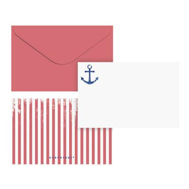 Flat Note Card Set - Anchor