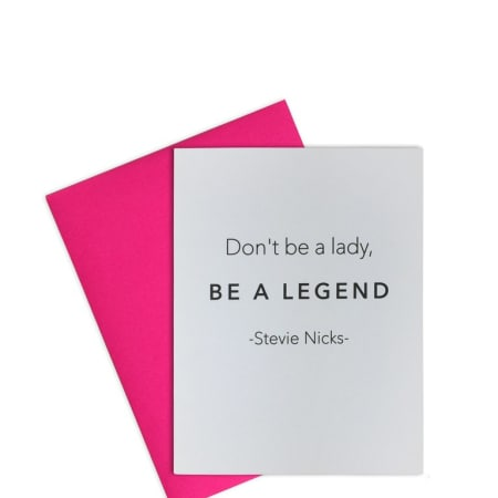 Be A Legend - Greeting Card
