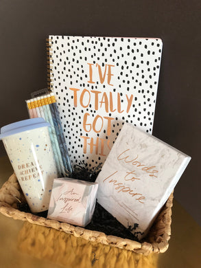 Inspirational Gift Basket 2