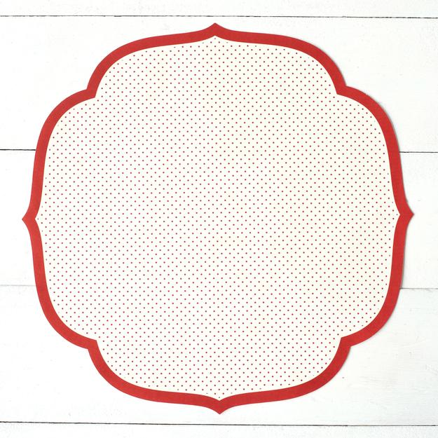 Red Polka Dot Placemat