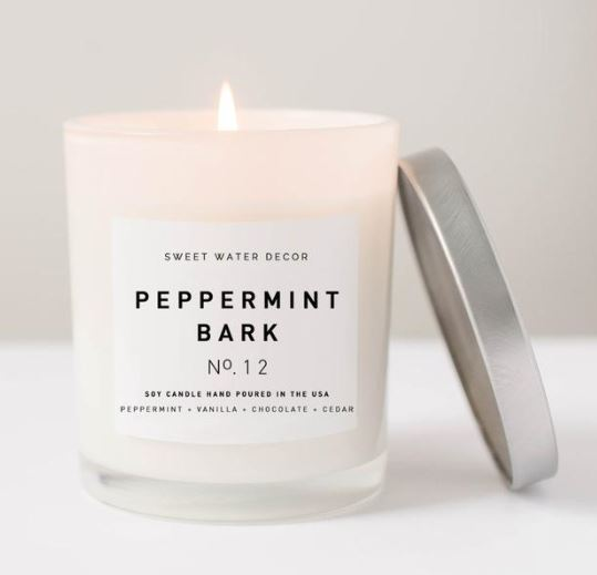 Peppermint Bark - 11oz Candle