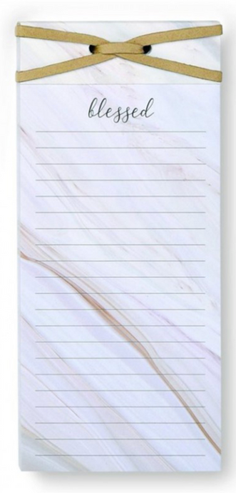 Blessed Magnetic Notepad
