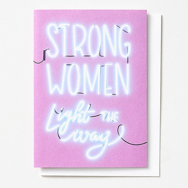 Strong Women Light the Way - Mother's Day Card