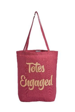 Canvas Totes Engaged Bag