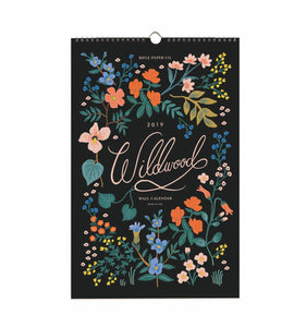 Wall Calendar- Wildwood Theme