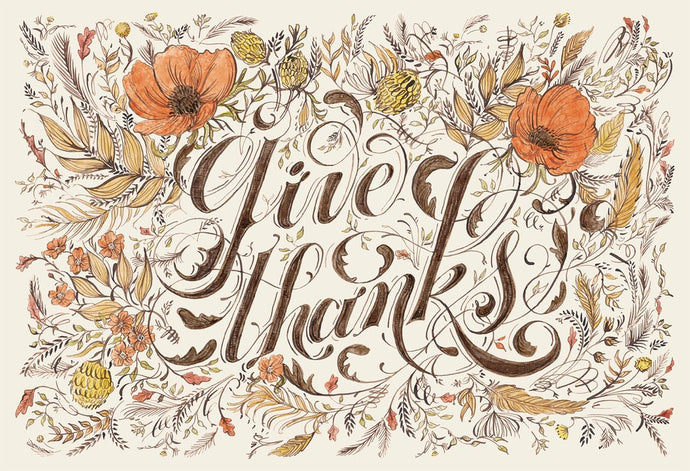 Give Thanks Placemats