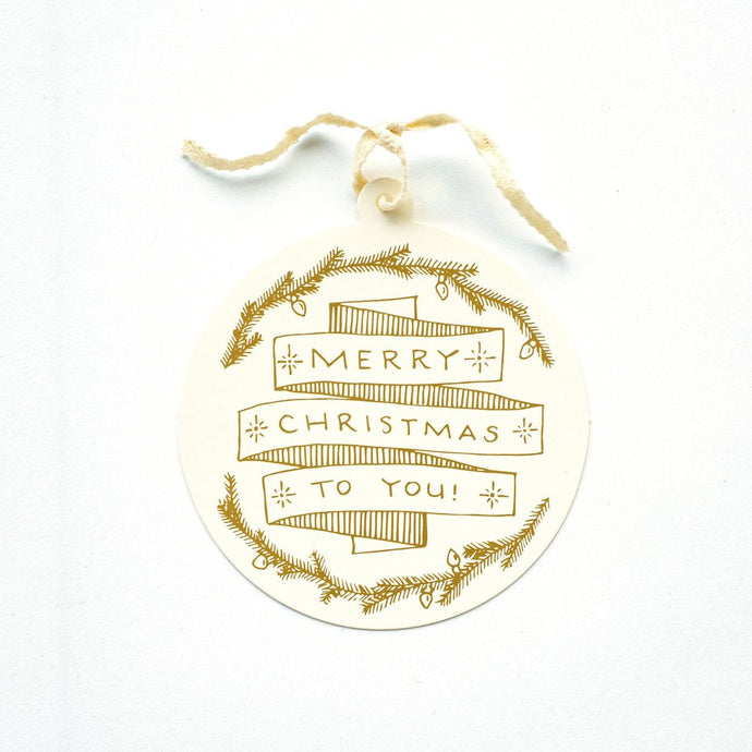 Merry Christmas to You -Gift Tag