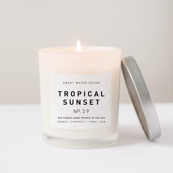 Tropical Sunset - 11oz Candle