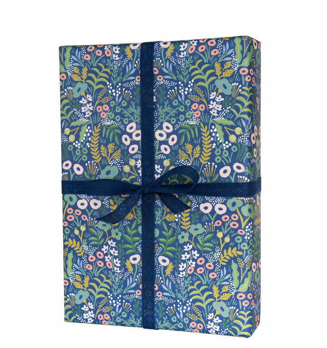 Tapestry Blue Floral- Wrapping Sheet
