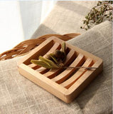 Creative Handmade Soap Dish made of Bamboo