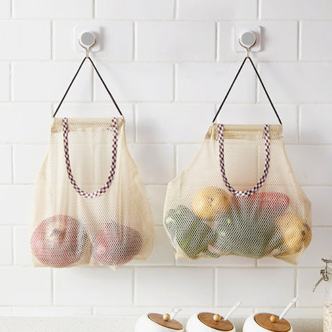Eco Friendly Hanging Storage Mesh Bag