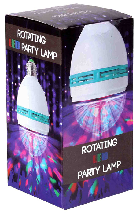 Roterende LED partylamp