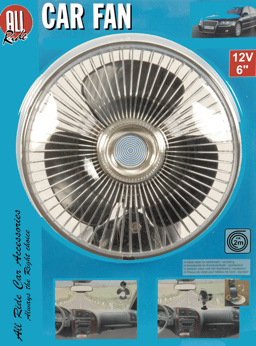 All Ride  Auto-ventilator met zuignap (12V)