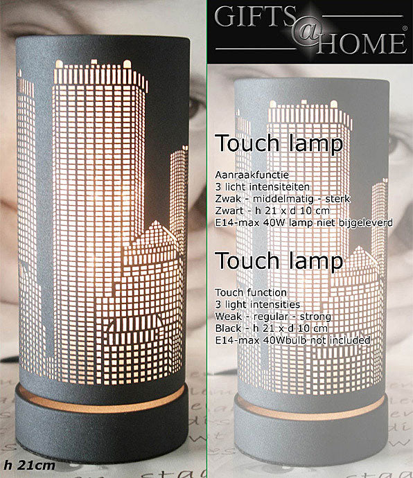 Touchlamp Metropool