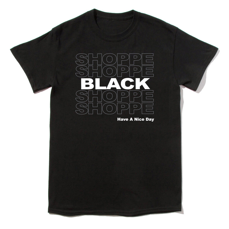 SHOPPE BLACK T-shirt (Black)