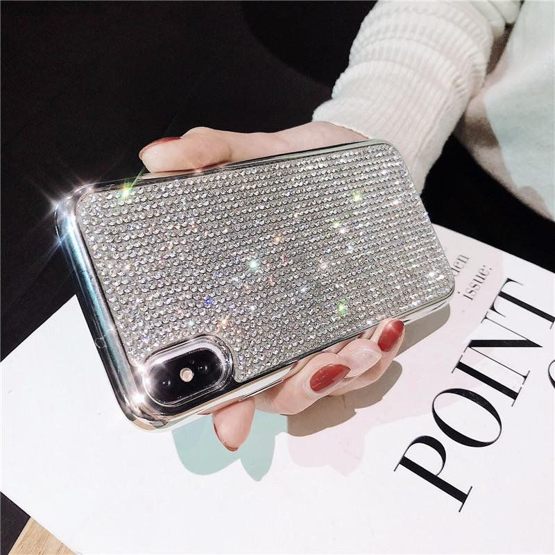60% OFF -Glitter Rhinestone Phone Case For iPhone