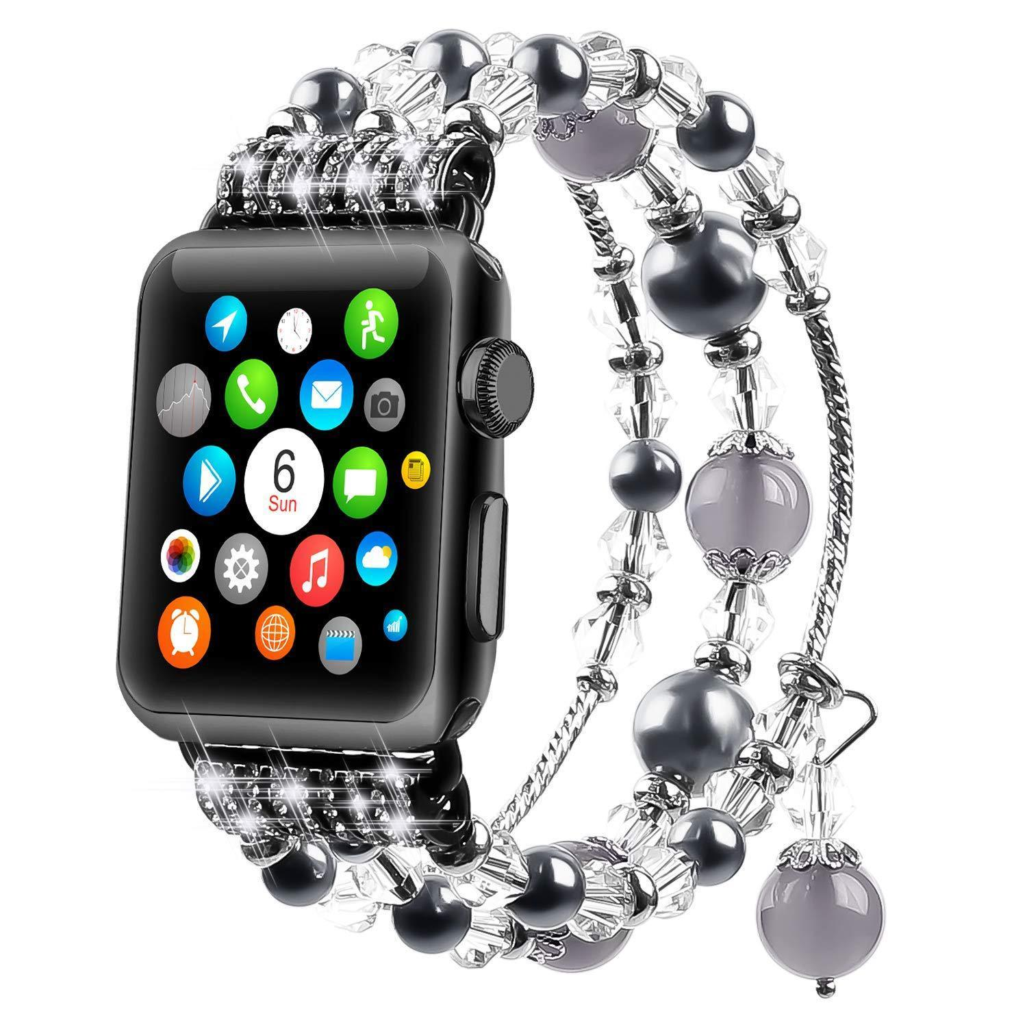 Apple Watch Agate Crystal Strap(ONLY $24.99 The Last Day)