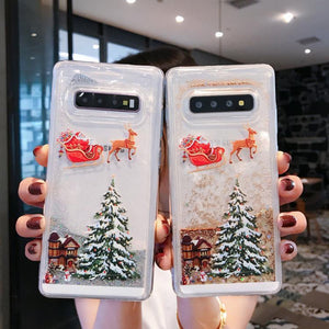 Flash powder mobile phone case——Samsung  phone case