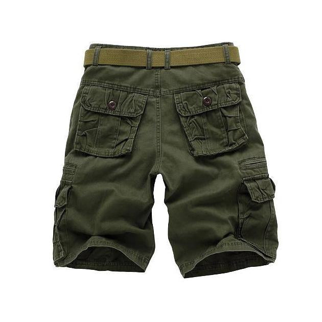 Pure Cotton High Quality Solid Color Military Shorts