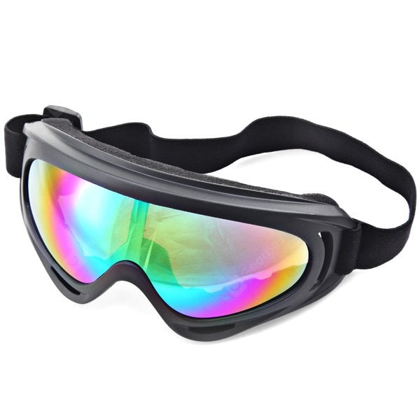 Professional Glasses UVA Protection Motorcycle Eyeware Motocross Goggle Chrom Fits Main Bmx with Flexible Elastic Band