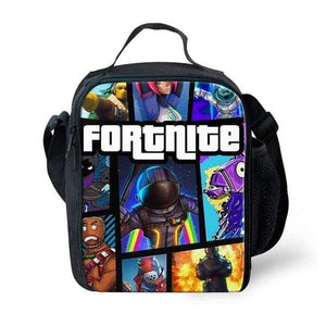 Fortnite Games Pattern Schoolbag