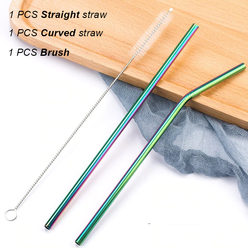 Collapsible Key Chain Straw—Reject plastic, care for the environment