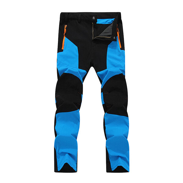 Stitching Quick Drying Pants Waterproof Windproof Sport-pant