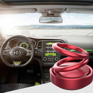 Double ring rotating suspension aromatherapy car aromatherapy