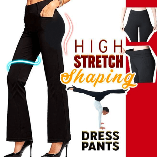 Buy 2 Free Shipping -Ultra-Elastic Dress Soft Yoga Pants