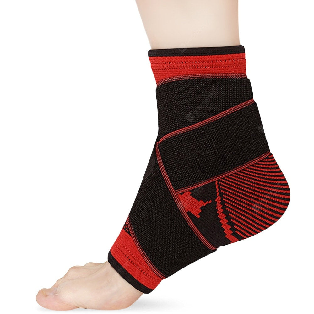 YUNDONGZHE Gym Sport Nylon Ankle Pad Protector