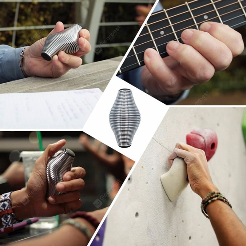 Spring Hand Grip Stress Relief Finger Developer