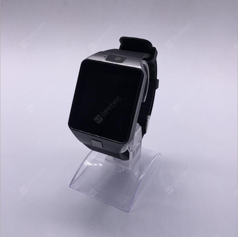 DZ09 Smart Watch Bluetooth Positioning Mobile Phone Card Pedometer Anti-lost Wearable Device