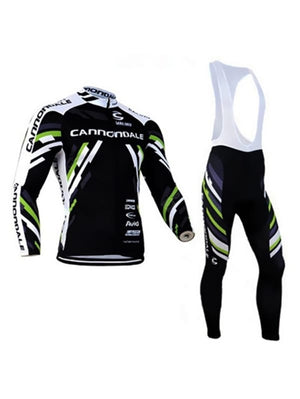 Outdoor Cycling Jersey Long Sleeve Set