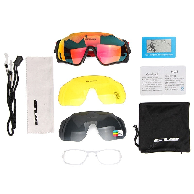 GUB 5700 Outdoor Sports Anti-fog Bicycle Goggles