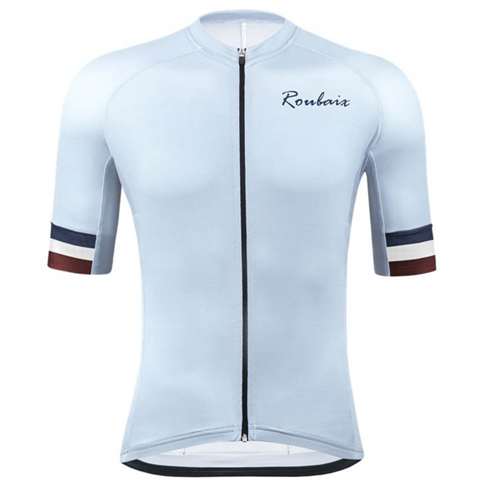 mens Cycling Jersey Short Sleeve tight fit Bicycle Jerseys Road Bike Cycling Clothing tops
