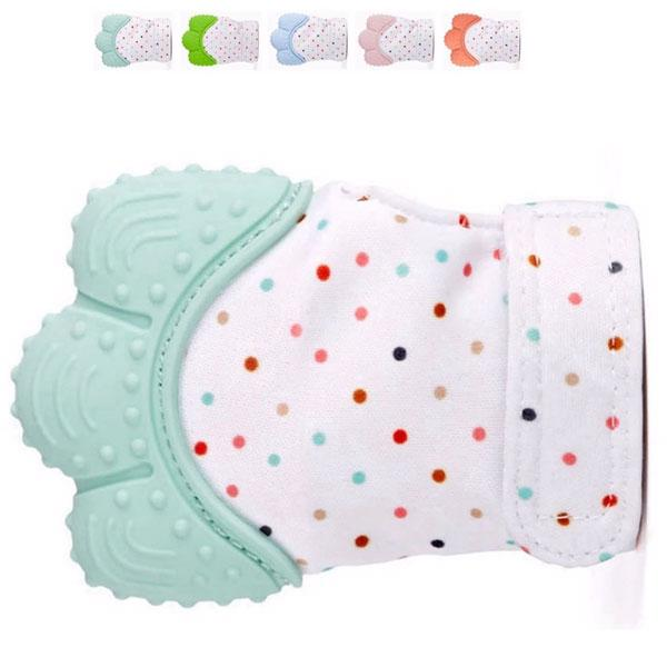 Easy Baby Teething Mitten Essential for Healthy Teeth Growth **70% Off Today ONLY!**