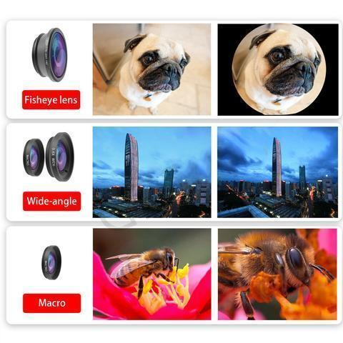 3 in 1 Universal Mobile Phone Lens