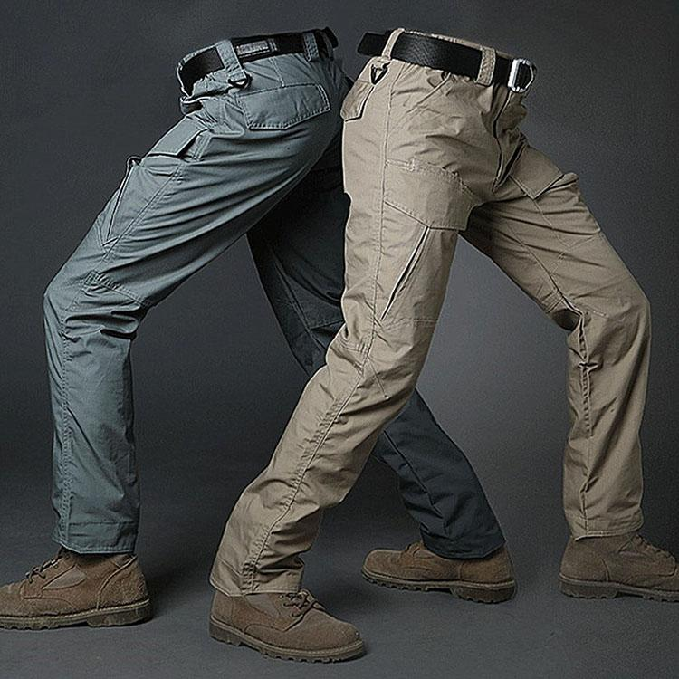 Tactical Waterproof Military Pockets Men Cargo Pants