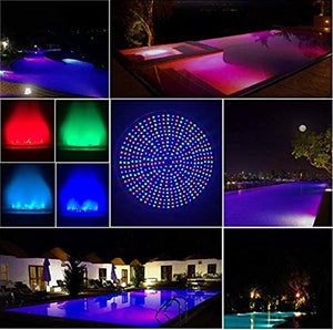 Home 120V 35W Pool Light Bulb,RGB Color Changing Replacement Swimming Pool Lights for Pool Underwater Light Fixture