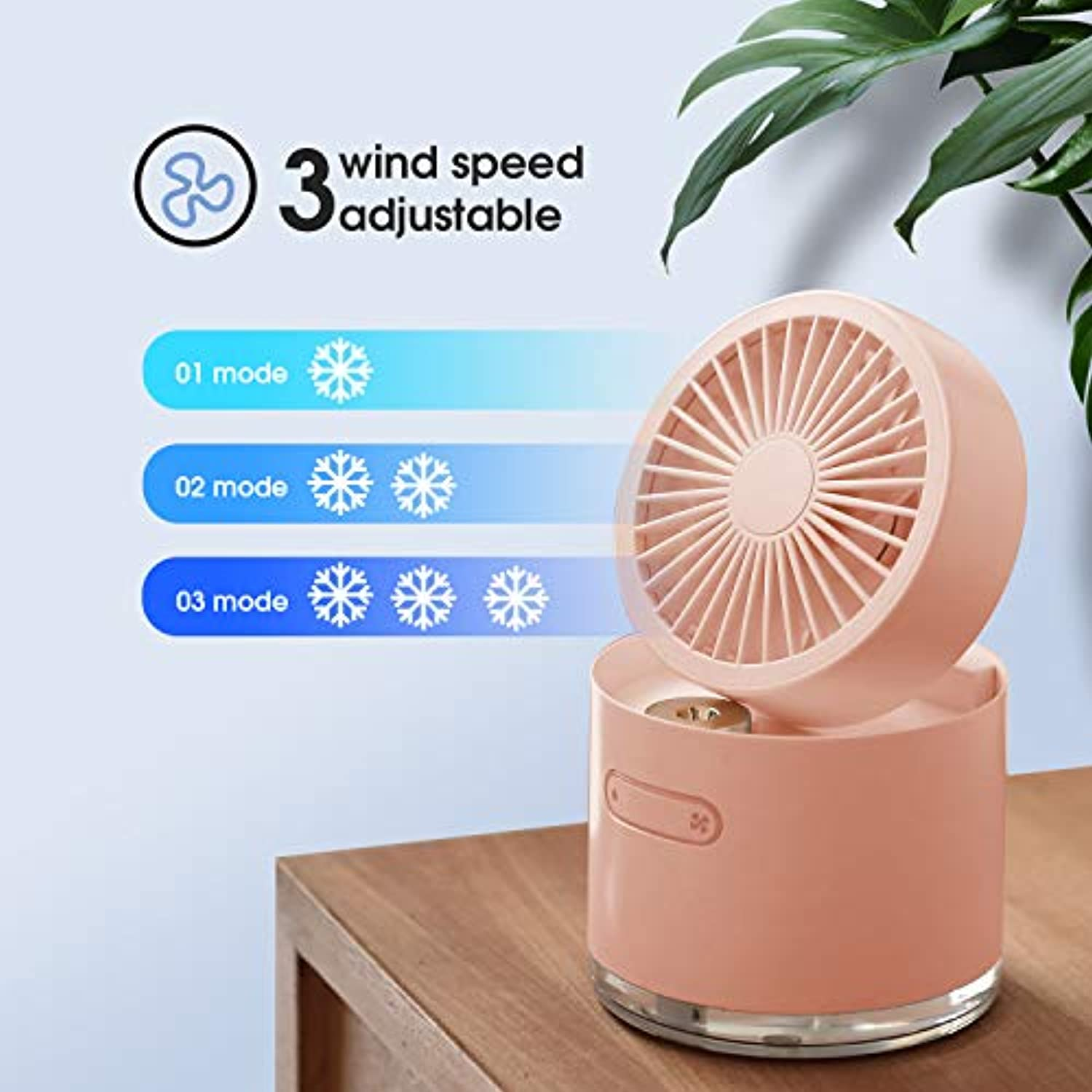 Upgraded Desktop Air Cooler Fan
