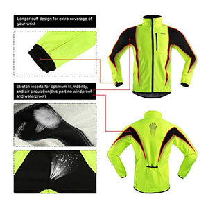 Winter Warm UP Thermal Softshell Cycling Jacket Windproof Waterproof 15-k