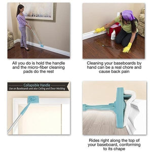 Adjustable Conforming Baseboard Cleaner ( Buy 2 Get Extra 10% Off )