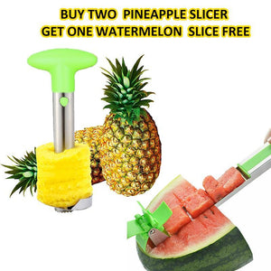 Juicy Bites Pineapple Slicer—Buy two get one Watermelon  Slice free(Only today)